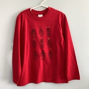Hanna Andersson Long Sleeve Shirt. NWT.